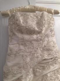 Mori lee wedding dress apx size 12