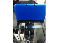 Nintendo 3DS XL - USED - BLACK & BLUE THEMED