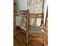 Retro folding handy chairs