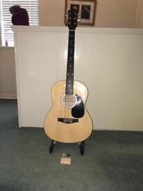 Martin smith guitar and stand