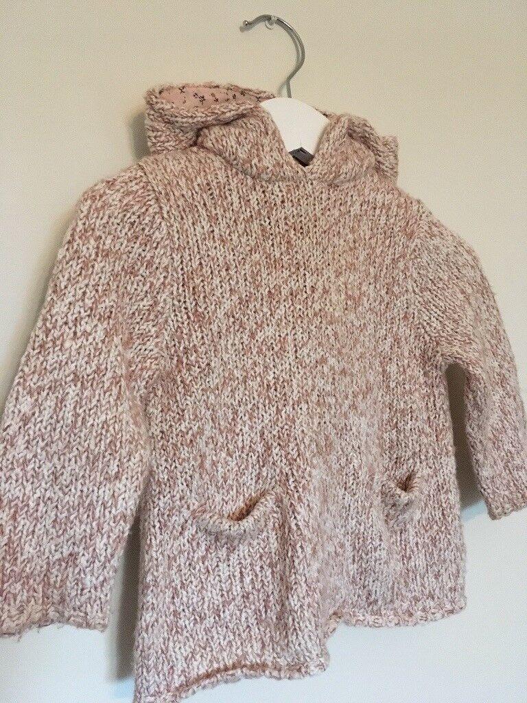 Zara hooded jumper