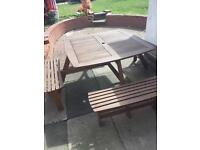Lovely picnic table