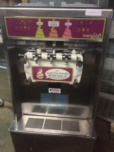 Taylor Soft Serve Ice Cream Machines - Two flavors w/ Twist