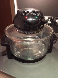 Electric halogen oven cooker
