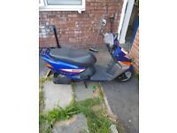 Honda lead moped 100CC