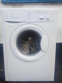 Indesit 6 kilo washing machine