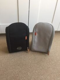 """Two """"pacapod"""" pods - for baby changing and feeding"""
