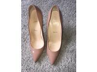 Louboutin ladies shoes size 7