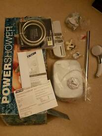 Brand new triton power shower