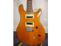 20011 PRS SE Custom guitar. SN L15513 Bought as a gift and never used.