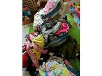 Big bundle clothes for girl and boy +300 items