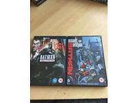 Batman Under the red hood & Batman Assault on Arkham animated films