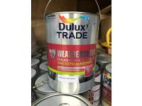 Dulux weathersheild pure brilliant white maximum exposure 5 times stronger than normal trade