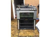 Belling electric oven with broken door glass