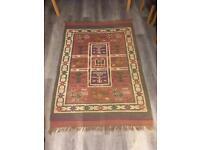 Large hand-loomed ethical Myakka rug