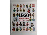 Lego minifigures year by year book with 3 mini figures