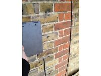 Smooth grey roof tiles, brand new, Dreadnought, like slate, 2000+ available