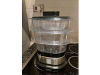 Tefal 3 tier steamer with timer