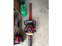 Rihobi hedge cutter great working order starts first pull blades great and sharp
