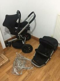 Quinny Buzz travel system / pushchair in excellent condition