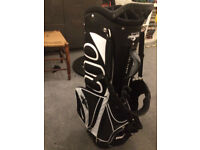 Golf bag-Once used and not needed any more- superb condition. Stand bag