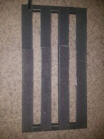 Pedaltrain pedal board