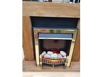 Electric Fireplace with surround