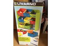 Kids storage shelve unit. Brand new still in box.