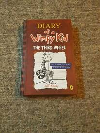 Diary of wimpy kid book