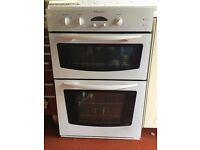 White Electric Oven