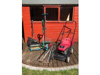 Garden Petrol Mower, Hedge trimmer and More............
