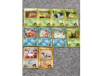 X10 pokemons battle duel cards Japanese rare bundle decks