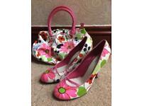 Kurt Geiger shoes and bag