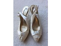 Debut wedding shoes size 4