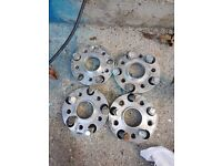 110 - 112 Spacers, 2x15mm & 2x20mm