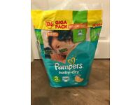 FREE - Pampers Baby-Dry size 3 nappies