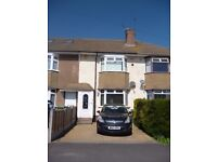 3 Bedroom House to Rent in Filton, Bristol – off street parking, two bathrooms, garden and garage.
