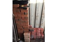 Facing brick. Mono block kerbs. Mixed lot 50