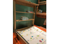 Roba Folding Baby Changing Table Wall Mounted Fold Down Changer Nappy Station