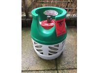 Bargain BBQ Gas Bottle - Gaslight Propane - 5KG - Approx 1/4 Full - Ideal for BBQ