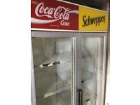 COCA COLA /SCHWEPPES DOUBLE CHILLER, WORKING.