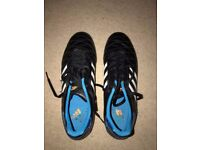 Adidas, Men's Astro Turf Shoes (mainly black), Size 9
