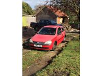 Vauxhall Corsa Club 12V, MOT to Jan 2018, Full service history, in family for 10 years