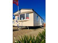 CENTER LOUNGE STATIC CARAVAN FOR SALE SITED ON THE NORFOLK COAST NR GREAT YARMOUTH.