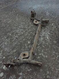 Clio 172 rear axle