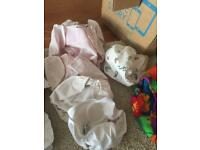 Large Real nappies bundle (birth to potty nappies)