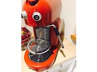 Red Retro design Nespresso coffee Machine