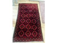 Persian rug, handmade woven wool
