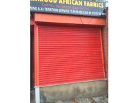 Shop Shutters (see description)
