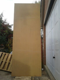 Chipboard clean and dry, each sheet 1981mm x 1105mm x 18mm